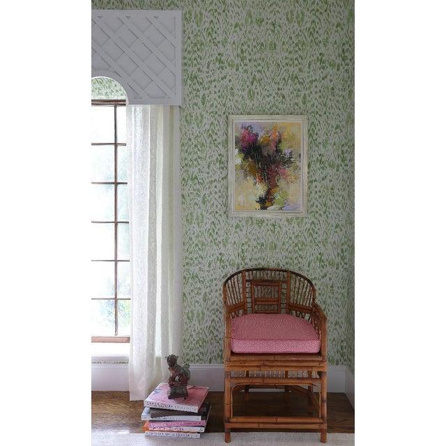 Thibaut Asian Modern Thibaut Carlotta Wallpaper - Set of 5 Rolls For Sale - Image 4 of 5