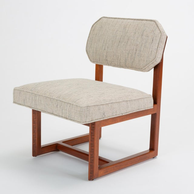 """Frank Lloyd Wright """"Taliesin"""" Game Table With Four Chairs For Sale In Los Angeles - Image 6 of 13"""