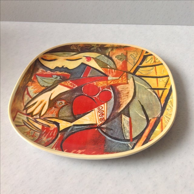 """Picasso Collector's Plate """"Farmer's Wife"""" - Image 3 of 5"""