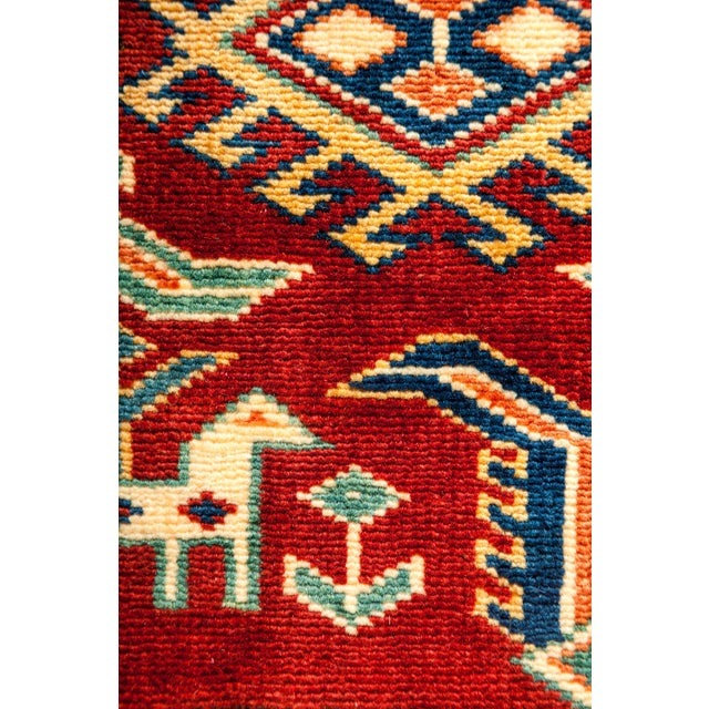 "New Traditional Hand Knotted Area Rug - 5'3"" x 6'7"" - Image 3 of 3"