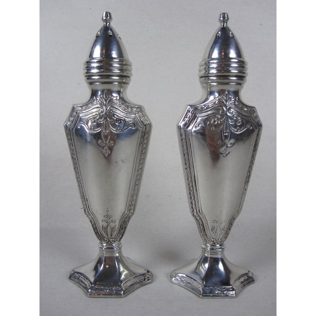 Art Deco Salt & Pepper Shakers- A Pair For Sale - Image 4 of 8