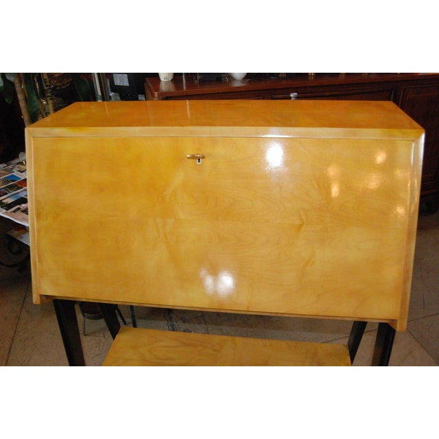 Mid-Century Modern Bureau by Alfred Hendrickx For Sale - Image 3 of 8