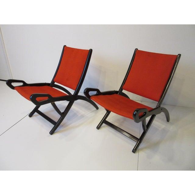 Gio Ponti Lounge Chairs for Fratelli Reguitti Italy For Sale - Image 13 of 13