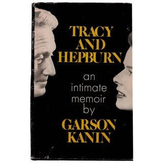 """Tracy and Hepburn: An Intimate Memoir"" First Edition Hardcover For Sale"