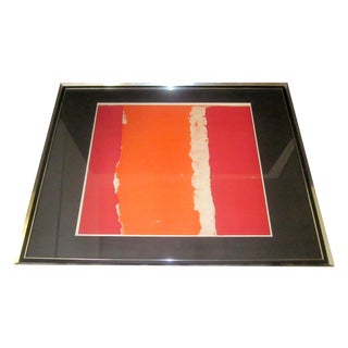Theodoros Stamos Mid-Century Abstract Serigraph