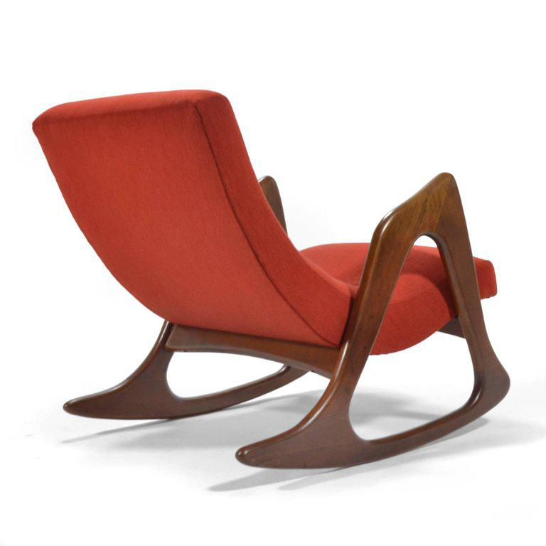 Adrian Pearsall Rocking Chair By Craft Associates   Image 3 Of 8
