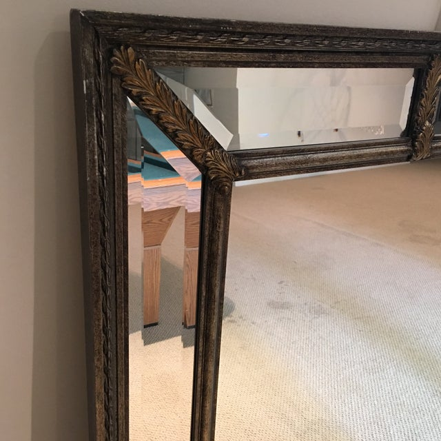 Traditional Silver & Gold Mirror For Sale - Image 3 of 11