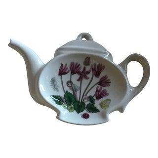 Portmeirion Botanic Garden Tea Bag/Spoon Rest For Sale