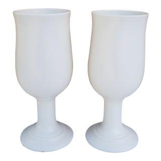 1970s Vintage Royal Haeger Ceramic Vases - A Pair