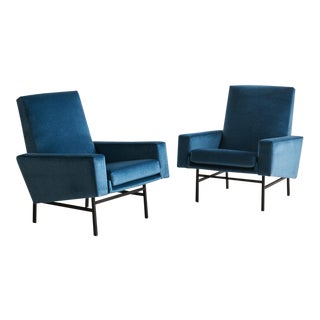 Pair of Arp Lounge Chairs for Steiner, 1950s For Sale