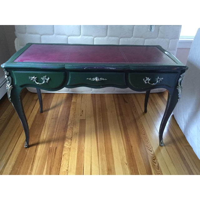 Louis XV Style Painted Desk For Sale - Image 10 of 12