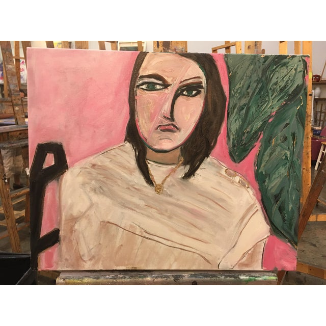 """""""She meant business"""" Original Oil Painting by Jj Justice - Image 9 of 10"""