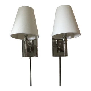 Robert Abbey Wall Mount Sconces - a Pair For Sale