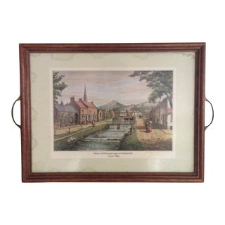 Pimpernel English Tray For Sale
