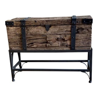 Uttermost Chester Storage Trunk For Sale