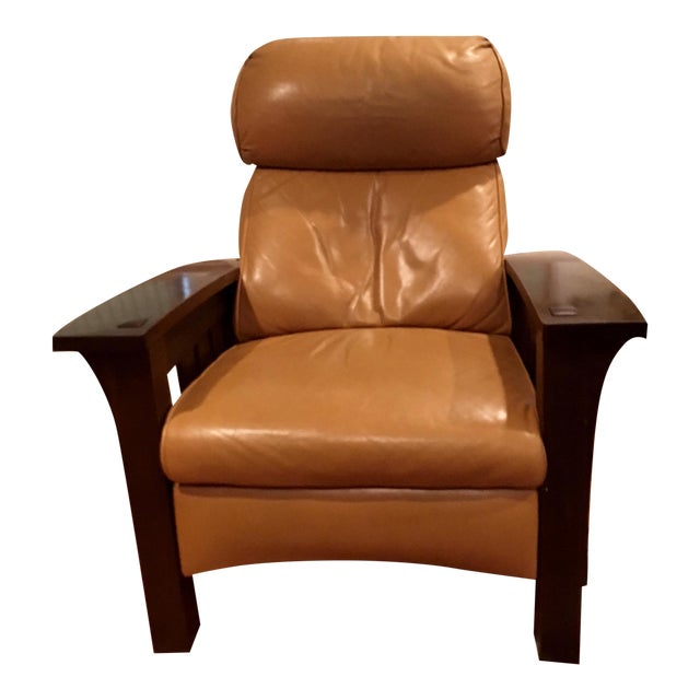 Stickley Mission Recliner Chair - Image 1 of 6