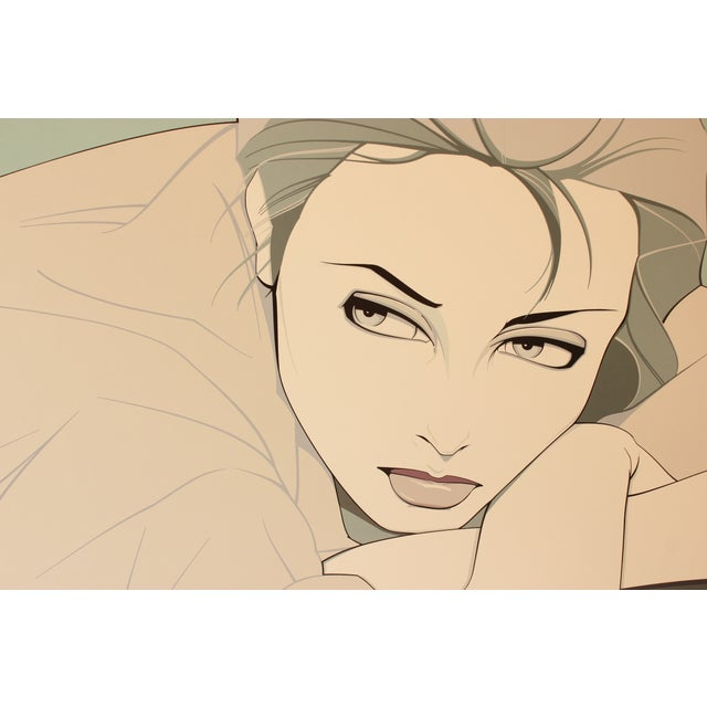'Gray Lady' Print by Patrick Nagel - Image 3 of 4