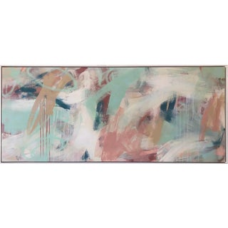 Contemporary Abstract Acrylic Painting Framed For Sale