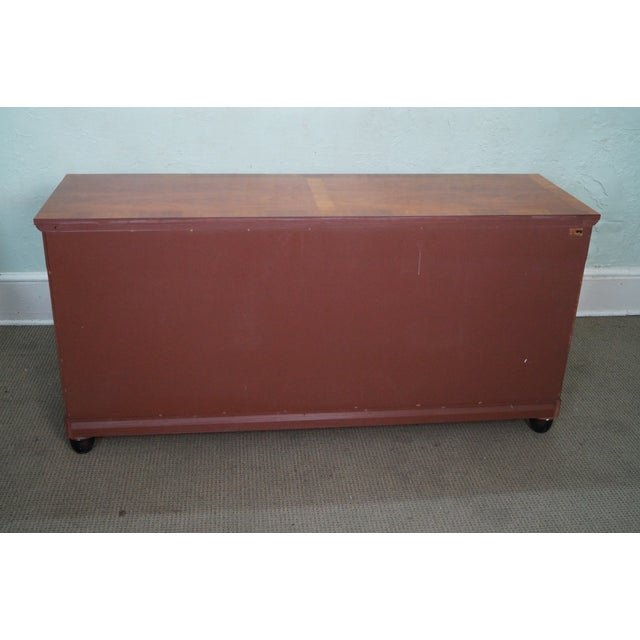 Baker Furniture Company Baker French Empire Style Fruitwood Sideboard For Sale - Image 4 of 10