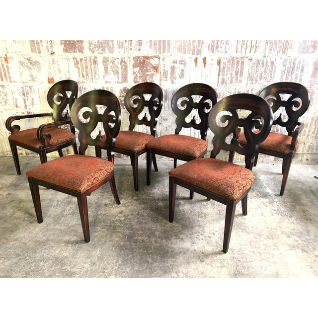"Set of Six Arhaus ""Jordan"" Dining Chairs For Sale - Image 13 of 13"