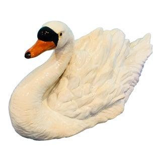 1970s Vintage Swan Figurine