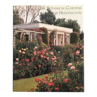 "1996 ""The Botanical Gardens at the Huntington"" Museum Book For Sale"