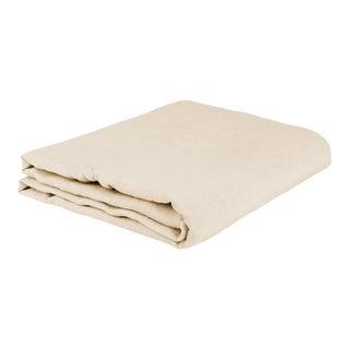 Once Milano Linen Duvet Cover Cream For Sale