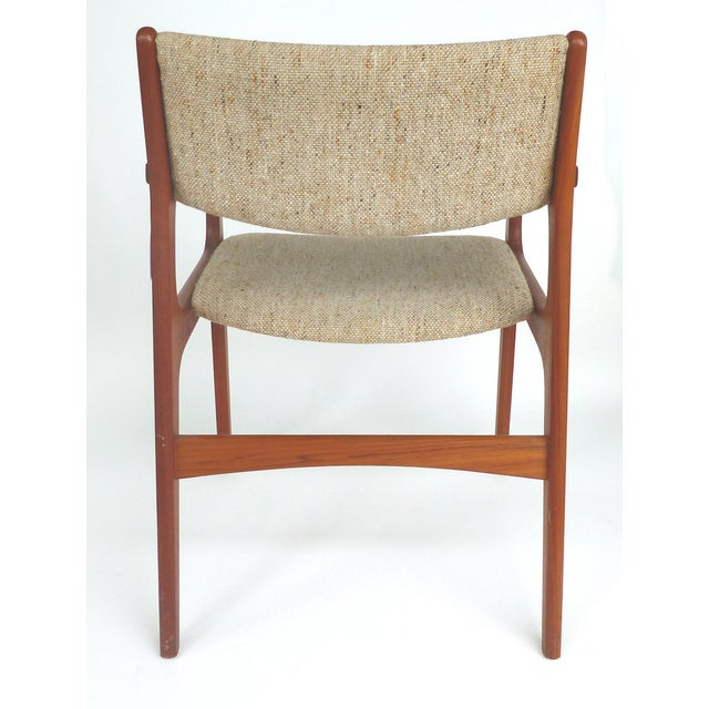 Scandinavian Modern Teak Armchairs - a Pair For Sale - Image 9 of 13