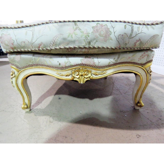 Wood Pair of Louis XV Style Fauteuils For Sale - Image 7 of 13