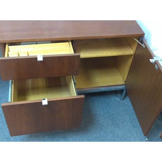 Knoll Mid-Century Modern Wood Credenza - Image 8 of 9