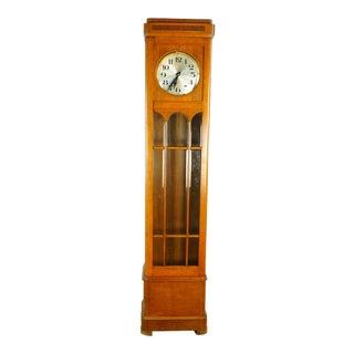 1930s Vintage German Longcase Clock For Sale