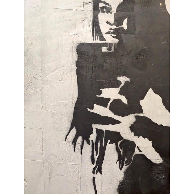 "Thrashbird Art ""Kim Kardashian Taking a Selfie"" Mix Media Painting For Sale In Los Angeles - Image 6 of 10"