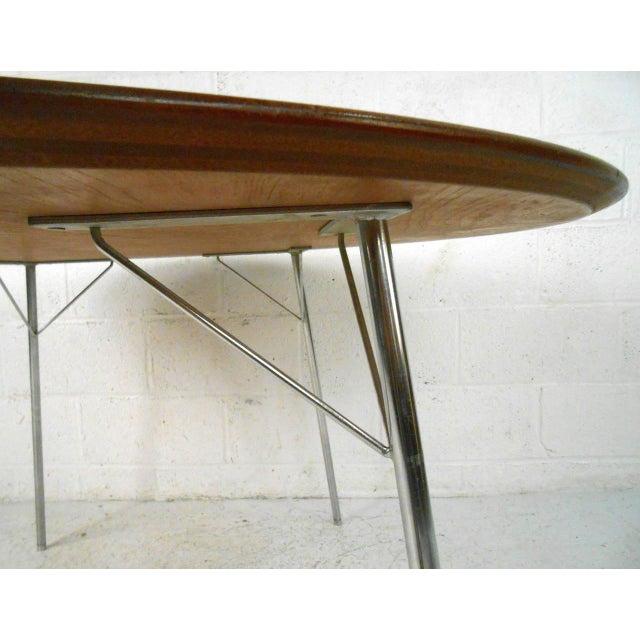 Mid-century Modern Teak Dining Table by Arne Jacobsen for Fritz Hansen - Image 6 of 7