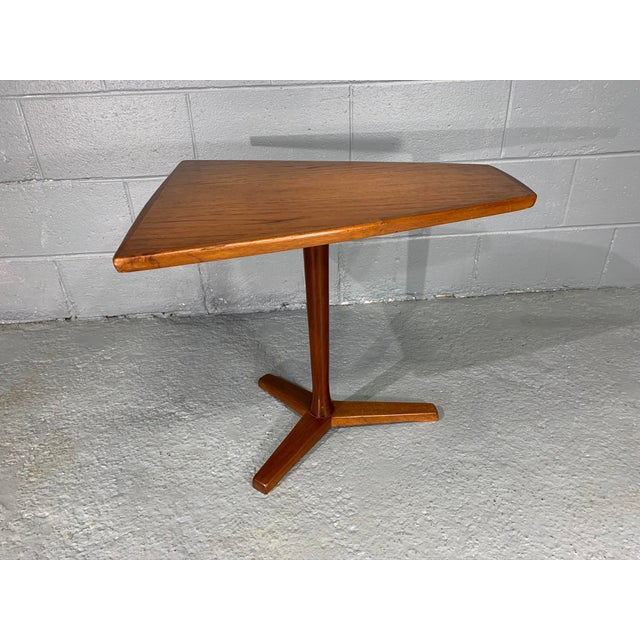 1960s Mid-Century Swedish Modern Dux Teak Side Table For Sale - Image 10 of 13