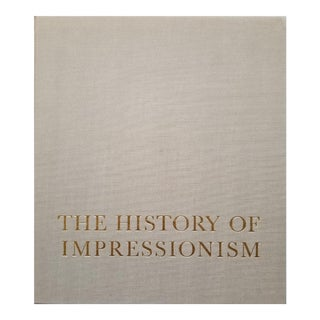 The History of Impressionism by John Rewald 1973 For Sale