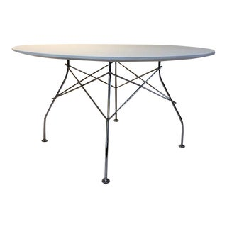 Kartell Glossy Round Table For Sale