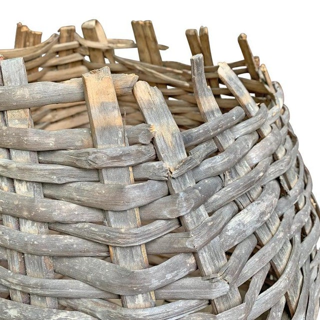 Brown Large 19th Century American Nut Basket For Sale - Image 8 of 11