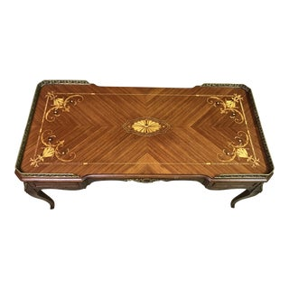 18th Century French Rococo Style Coffee Table,reduced For Sale