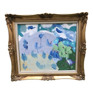 Framed Contemporary Abstract Painting For Sale