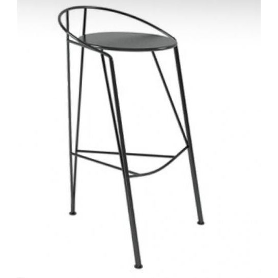 Pascal Morgue French Barstools - Set of 4 - Image 9 of 10