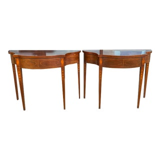 Vintage Baker Charleston Collection Console Tables - a Pair For Sale