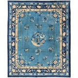 Image of Keivan Woven Arts, L11-0807, Early 20th Century Antique Chinese Peking Rug - 9′10″ × 11′8″ For Sale