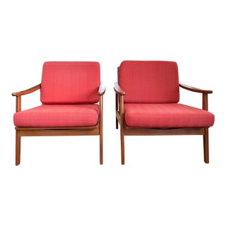 Pair of Mid-Century Yugoslavia Chairs For Sale