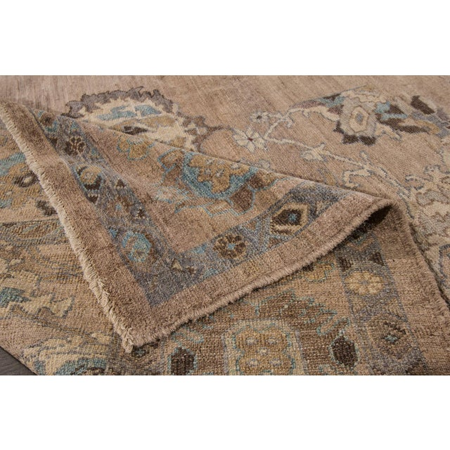 """Wool Sultanabad Rug - 6'9"""" x 9'10"""" - Image 4 of 7"""