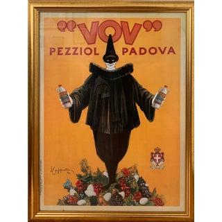 """Leonetto Cappiello Framed Art Print, """"Vov, 1922"""" For Sale"""
