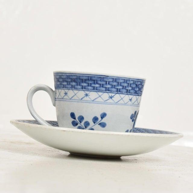 Royal Copenhagan Mid Century Danish Modern Coffee Tea Cup & Plate Set for (12) Twelve Person, Royal of Copenhagen Era For Sale - Image 4 of 11