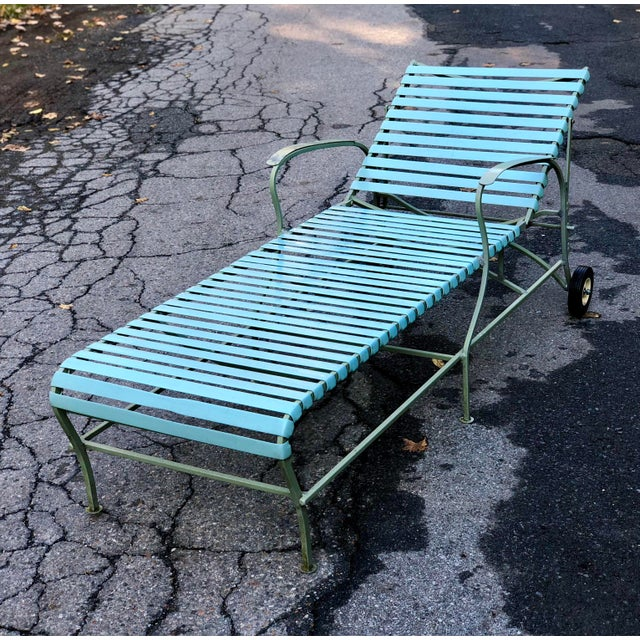 Mid Century Modern Patio Furniture Set Lounge & Chairs For Sale In New York - Image 6 of 13