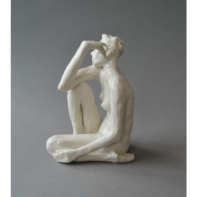 2010s Contemporary Ceramic Figurative Maquette For Sale - Image 5 of 10