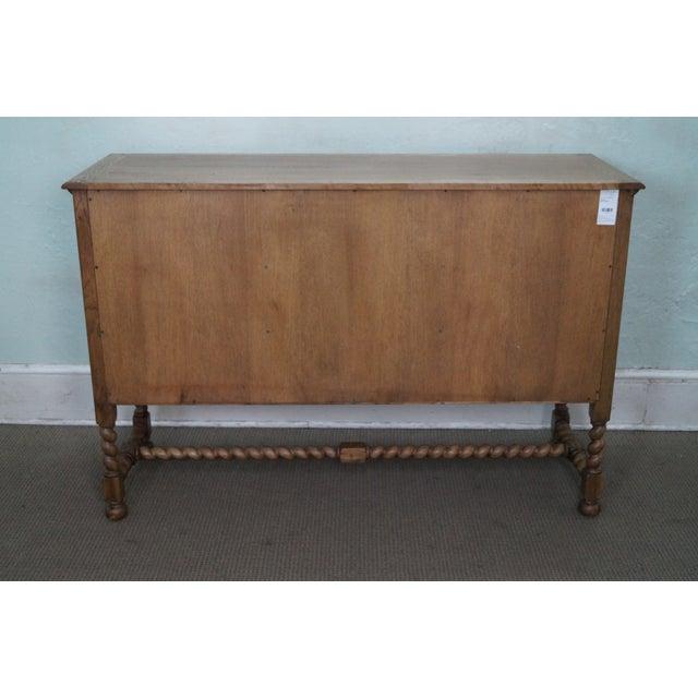 Jonathan Charles Tudor Oak Sideboard Cabinet - Image 4 of 10