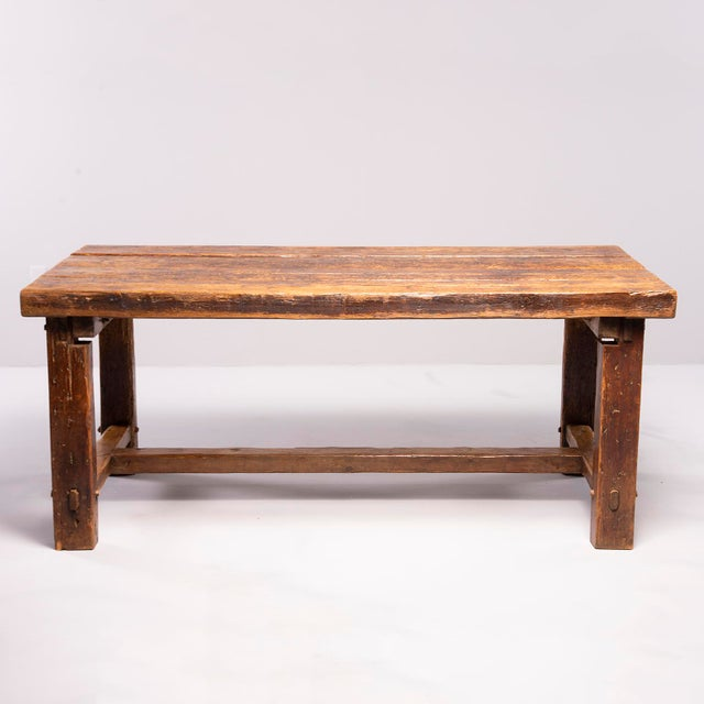 Rustic Early 19th Century Rustic Table For Sale - Image 3 of 13